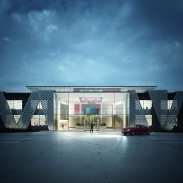 AOI Studios - Dusk Entrance