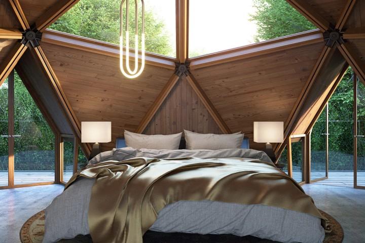 AOI Studios - Geodesic Tree house V01