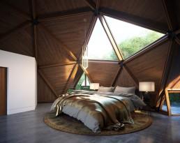 AOI Studios - Geodesic Tree house V02