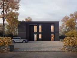 AOI Studios - Kiss House Rural External