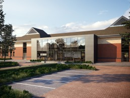 AOI Studios - Eton House Approach