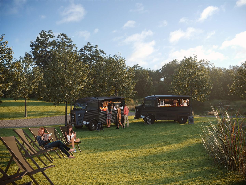 AOI Studios - Eton House Food trucks