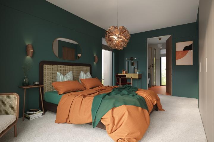 AOI Studios - Kiss House bedroom