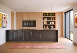 AOI Studios - Kiss House Kitchen Day