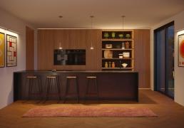 AOI Studios - Kiss House Kitchen Night