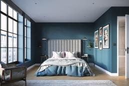 AOI Studios - Spitalfields Works U7 Bed