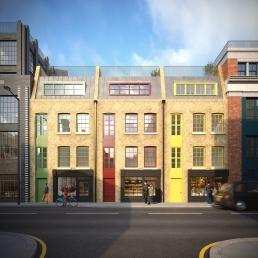 AOI Studios - Spitalfields Works Townhouses