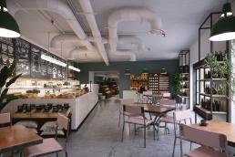 AOI Studios - Spitalfields Works N Deli